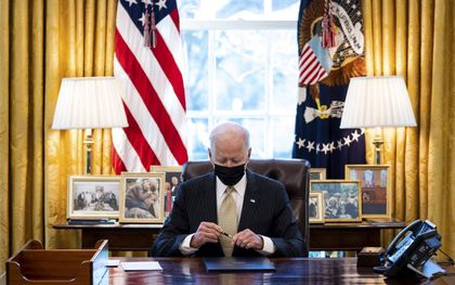 """""""In de VS lijkt de zogeheten Equality Act (gelijkheidswet) aangenomen te gaan worden."""" beeld EPA, Doug Mills"""