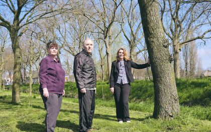 Parkinsonpatiënt Antonio Meola met vrouw Yvonne (l.) en dochter Filomena. beeld Sjaak Verboom