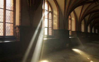 """""""In een cultuur waarin godsgeloof niet meer vanzelfsprekend is, verandert ook de manier waarop het heil gepresenteerd wordt."""" beeld iStock"""
