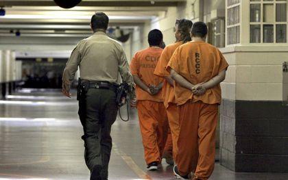 Gevangenen in de penitentiaire inrichting van Philadephia.beeld iStock, Bastiaan Slabbers