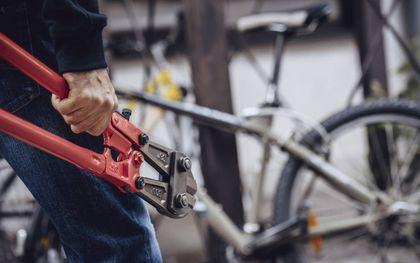 Proteus zou een toepassing kunnen krijgen als materiaal voor supersterke fietssloten. Een fietsendief kan er niets tegen uitrichten met slijptol of betonschaar.beeld iStock