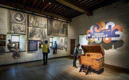Expositie over Hugo de Groot in Slot Loevestein. Mike Bink fotografie