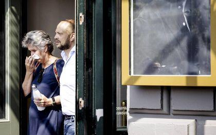 Duizenden mensen namen afgelopen week in Amsterdam afscheid van de vermoorde misdaadverslaggever Peter R. de Vries. beeld ANP, Sem van der Wal