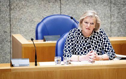 Demissionair staatssecretaris Broekers-Knol (Justitie en Veiligheid).beeld ANP, Sem van der Wal