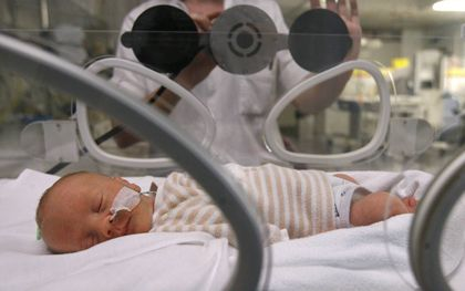 Het komt vaker voor dat de verloskamers in een ziekenhuis vol liggen. beeld ANP, Cynthia Boll