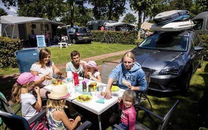 Buitenlanders die in Duitsland op vakantie gaan, mogen zich de eerste vijf dagen alleen in en om hun vakantiehuisje begeven, tenminste als ze niet volledig zijn ingeënt of geen herstelbewijs hebben. beeld ANP, Bart Maat