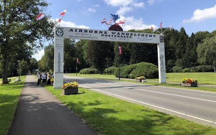 De Utrechtseweg, bij het Airborne Museum. beeld RD