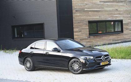 De nieuwe Mercedes C-klasse. beeld Tony Vos