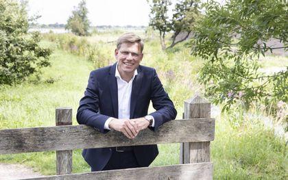 Laurens Kroon neemt na bijna 25 jaar afscheid van de Jeugdbond Gereformeerde Gemeenten (JBGG). beeld RD, Anton Dommerholt
