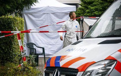 Forensisch onderzoek na de vondst van een lichaam. beeld ANP, Rob Engelaar