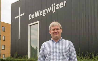 Colin Hansen (VS) sprak vrijdag voor de Gospel Coalition in het Missiecentrum te Almere. beeld Ruben Schipper