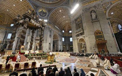 De basiliek van de Sint Pieter in Rome. beeld AFP, Alberto Pizzoli