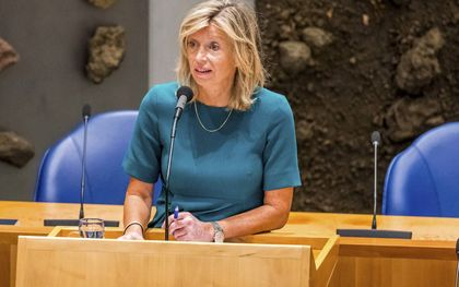 Minister Kajsa Ollongren (Binnenlandse Zaken).beeld ANP, Lex van Lieshout