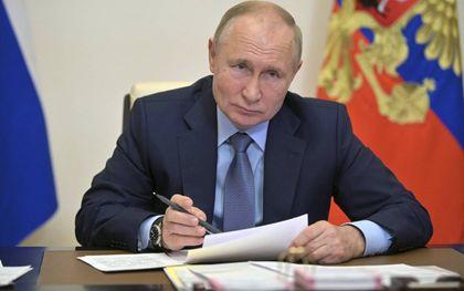 """""""We hebben anno 2021 nog een kans om de relatie met onze grote oosterbuur te verbeteren""""beeld AFP, Alexey Druzhinin"""