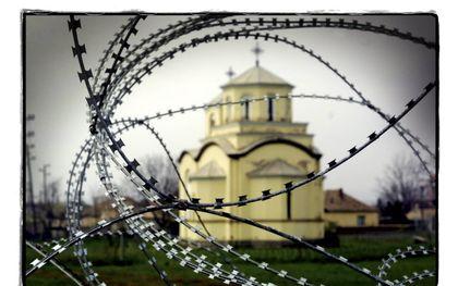 """""""Vervolgde christenen kunnen alleen maar volhouden in het hier en nu door met één been in de toekomst te staan.""""beeld RD, Sjaak Verboom"""
