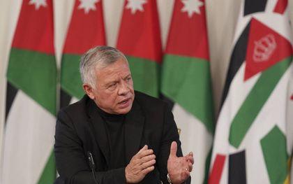 De Jordaanse koning Abdullah.beeld AFP, Yousef Allan