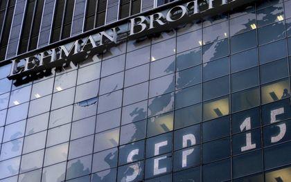 """""""De beurskrach van 1929 vertoonde veel overeenkomst met de wereldwijde financiële crisis van 2007-2008, met de val van Lehman Brothers als climax.""""EPA, Peter Foley"""