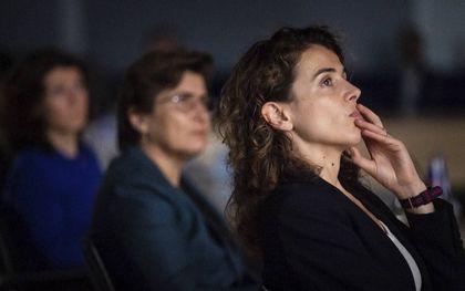 """In de Tweede Kamer werd de documentaire """"Alleen tegen de staat"""" over de toeslagenaffaire vertoond. beeld ANP, Bart Maat"""