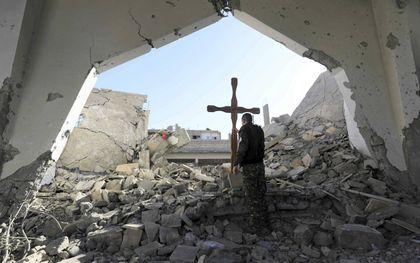 Raqqa. beeld AFP