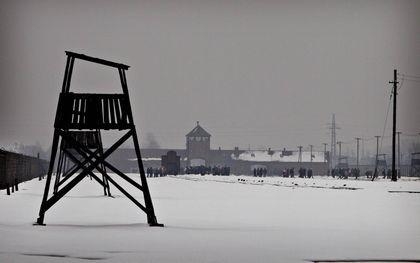 Het voormalig concentratiekamp Auschwitz en Birkenau, de plaats waar de meeste Joden werden vermoord.beeld Henk Visscher, RD