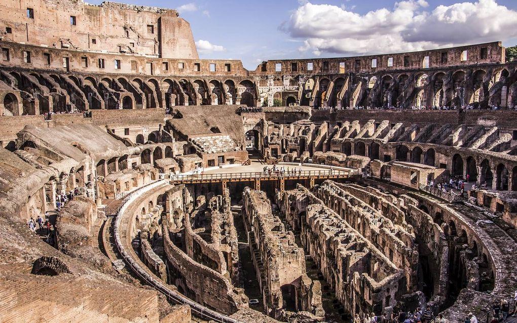Het Colosseum heeft momenteel geen arenavloer. beeld Getty Images/iStockphoto