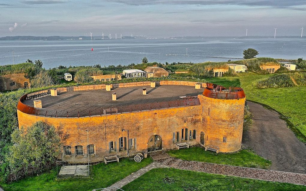beeld Conno Bochoven en Stichting Fort Buitensluis