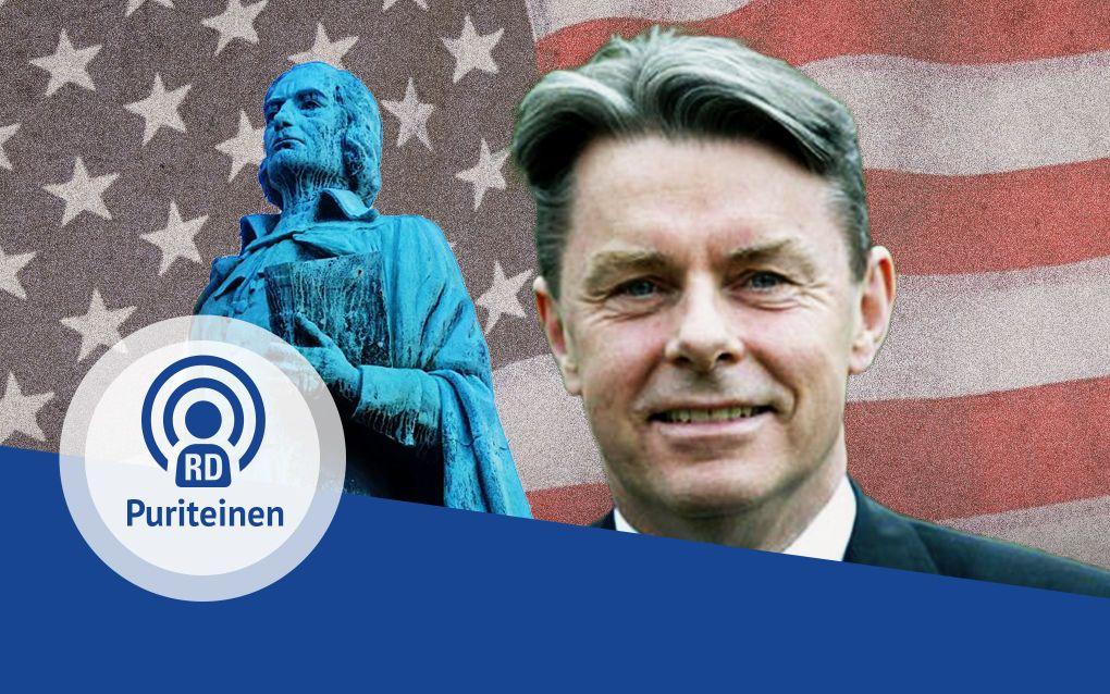 Prof. dr. A. Baars praat in de vierde aflevering van de PuriteinenPodcast over geloofszekerheid en Thomas Hooker. beeld RD
