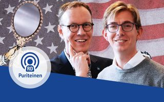 Albert-Jan Regterschot en Steven Middelkoop in de zesde aflevering van de PuriteinenPodcast. beeld RD