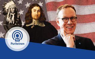 Albert-Jan Regterschot spreekt in de vijfde aflevering van de PuriteinenPodcast over hoe John Eliot de Indianen bereikte met het Evangelie. beeld RD