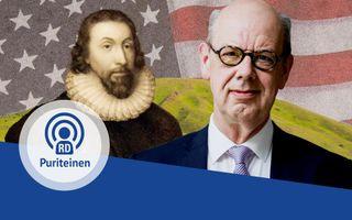 Wim Kranendonk vertelt in de derde aflevering van de PuriteinenPodcast over de puriteinse invloeden in Amerika. beeld RD