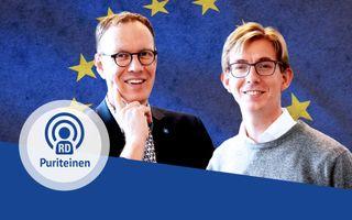Albert-Jan Regterschot en Steven Middelkoop, hosts van de PuriteinenPodcast. beeld RD