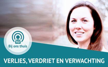 Eline Zandee-Kranendonk praat in deze aflevering over verlies, verdriet en verwachting. beeld Eline & RD