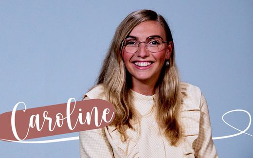 Caroline Schimmel, de presentatrice van de videoserie CAROLINE. beeld RD