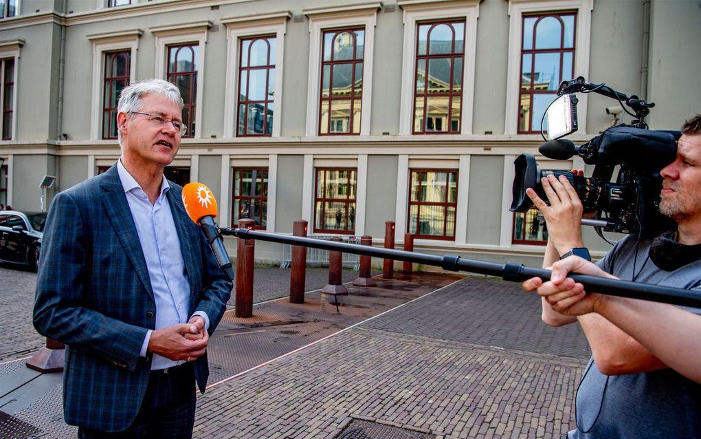 De Eerste Kamer stemde dinsdag in met de aangescherpte wet burgerschap van onderwijsminister Arie Slob.beeld ANP, Bart Maat
