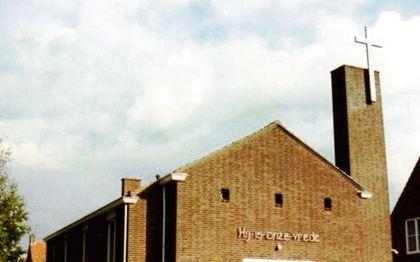 De protestantse kerk in Lewedorp. beeld Reliwiki