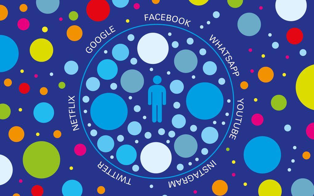 Sociale media werken als een filter waardoor de gebruiker een gekleurd beeld van de werkelijkheid ontvangt terwijl hij meent alle informatie onder handen te hebben. beeld RD, Henriëtte Scholman