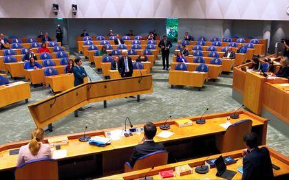 Livestream Algemene Politieke Beschouwingen. beeld tweedekamer.nl