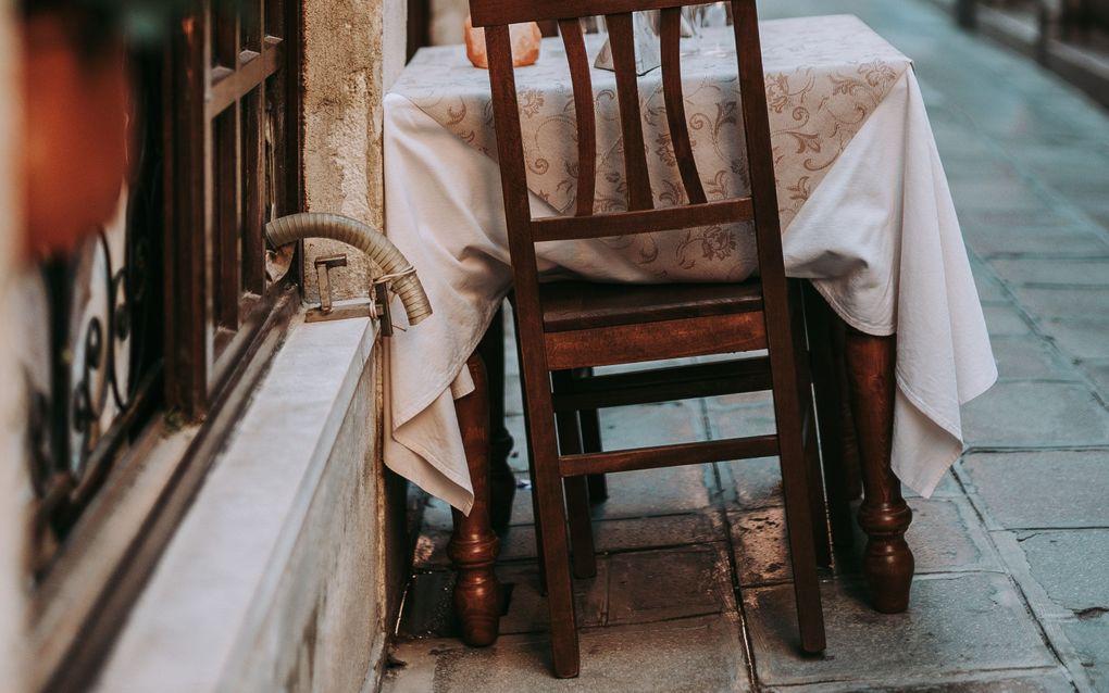 Een eetgelegenheid in Italië. beeld Unsplash
