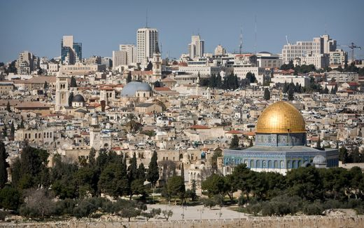 Blik op Jeruzalem. beeld RD, Henk Visscher