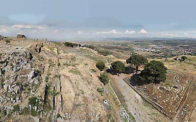 Ruïnes van de antieke stad Pergamum. Foto Asisi