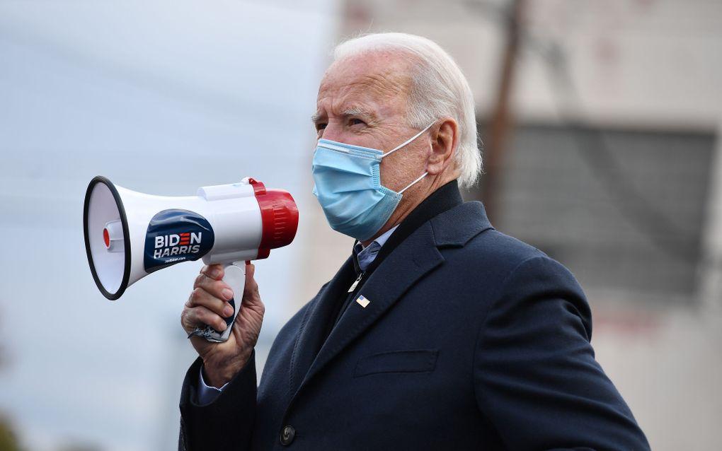 Joe Biden. beeld AFP, Angela Weiss