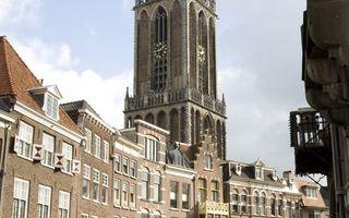 In de Domkerk in Utrecht is dinsdagmiddag het zogehten Kairosdocument overhandigd aan Nederlandse kerkleiders. Die voelen echter weinig voor de bepleite boycot tegen Israël. Foto ANP