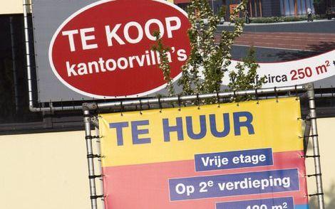 Ook in crisistijd verraadt de vastgoedwereld zijn reputatie van luxepaard niet. Foto ANP