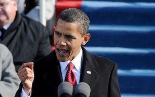 Er zijn het afgelopen jaar veel boeken over Barack Obama verschenen. Als het gaat om de verwachtingen van zijn beleid, overheerst de speculatie. Foto EPA