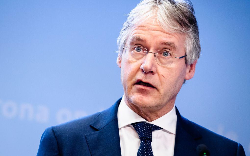 Arie Slob, minister voor Basis- en Voortgezet Onderwijs en Media. beeld ANP, Sem van der Wal