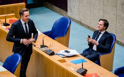 Kabinet debatteert met Kamer over corona, beeld ANP, Bart Maat