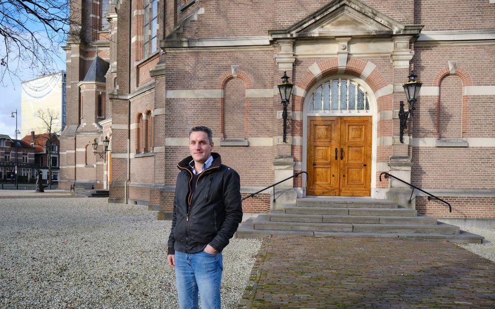 Christian van der Weele adviseert kerkelijke gemeenten op het gebied van kerkveiligheid en verzorgt trainingen. beeld Sjaak Verboom