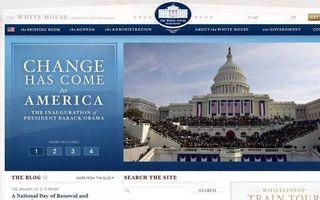 De website van het Witte Huis.