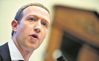 Mark Zuckerberg, CEO van Facebook. In een reactie zegt Facebook het datalek te betreuren, maar wijst vooral op de verantwoordelijkheid van gebruikers. beeld AFP, Mandel Ngan