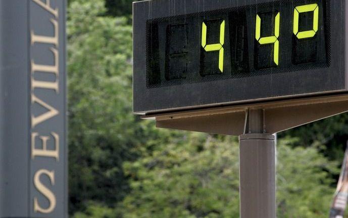 Maximale temperatuursstijging: 2 graden Celsius. Foto EPA